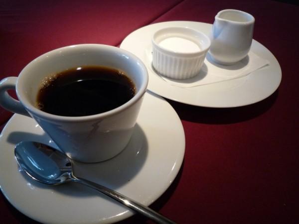 食後には美味しいコーヒーをどうぞ